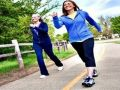 رياضية المشي 3 ساعات أسبوعياً قد يحمي السيدات من السكتة الدماغية