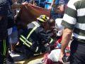 اصابة مواطنان بحادث سير شمال طولكرم - شاهد الصور