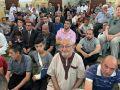 صلاة وخطبة عيد الفطر المبارك - المسجد الجديد بطولكرم - شاهد الصور والفيديو