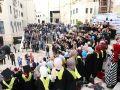 شاهد الصور والفيديو : حركة الشبيبة الطلابية تخرج فوج الاسرى في جامعة خضوري