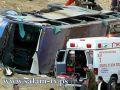 مقتل 5 اسرائيليين واصابة 50 بينهم خمسة في حالة حرجة جداً في حادث طرق