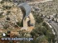 جرافات الاحتلال تشرع بتجريف أراض في بيت جالا لبناء جدار الفصل