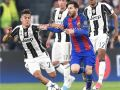 يوفنتوس يسحق برشلونة بثلاثة اهداف دون مقابل