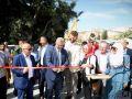 طولكرم: افتتاح المرحلة الأولى من مشروع محطة ترحيل النفايات في مخيم نور شمس