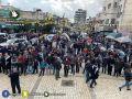"""طولكرم: مسيرة جماهيرية حاشدة رفضا لـ""""صفقة القرن"""" .. فيديو"""