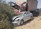 اصابة 2 من المواطنين و4 امريكيين بحادث سير مروع جنوب جنين