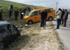 8 اصابات في حادث سير شمال رام الله