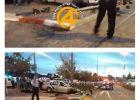 اصابة سائق فلسطيني بعد ان قام بدهس 9 اسرائيليين في القدس
