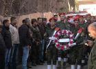 جنازة عسكرية لشهيد عناتا في رام الله
