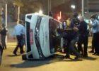 اصابات واعتقالات وأعمال شغب واسعة في اسرائيل - شاهد الصور