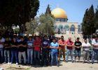 القدس : لا قيود على دخول المصلين الفلسطينيين إلى المسجد الاقصى