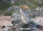ضبط شاحنة نفايات اسرائيلية مهربة في قلقيلية