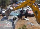 الشرطة تتلف 300 مركبة غير قانونية في جنين