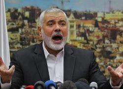 هنية : نرفض ان يكون اي حل للقضية الفلسطينية على حساب الاردن ومصر