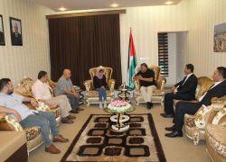 الكفيفة حسناء عمر ابنة طولكرم بضيافة رئيس كردستان العراق مسعود البرازاني