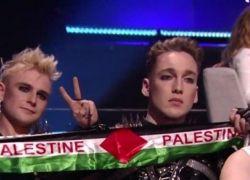 """تغريم إذاعة أيسلندا بسبب عرض صور تظهر أعلام فلسطين في """"يوروفيجن"""""""