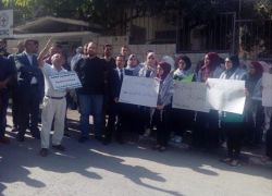 طولكرم: اعتصام تضامني مع الأسرى في سجون الاحتلال