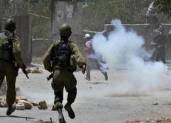 إصابة العشرات بالاختناق في مواجهات مع الاحتلال غرب ضاحية شويكة شمال طولكرم