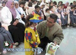 """""""الشراع"""" تبدأ بتنفيذ ورش فرح ومرح في مدارس محافظة طولكرم"""