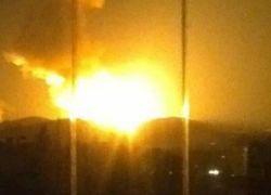 غارات اسرائيلية عنيفة استهدفت مناطق قرب مطار دمشق الدولي