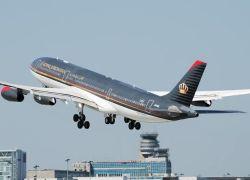 طائرة تتبع للملكية الاردنية تعود الى عمان بعد ساعة من اقلاعها