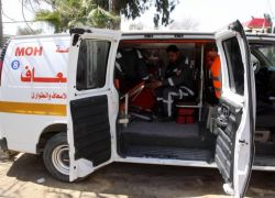 مصرع مواطنة بحادث سير شمال الخليل