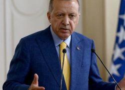 اردوغان : قانون حماية الشعب الفلسطيني من اسرائيل صفعة لاميركا
