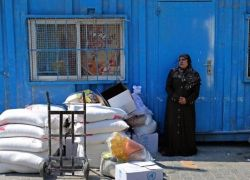 اضراب شامل يعم مؤسسات الاونروا في غزة
