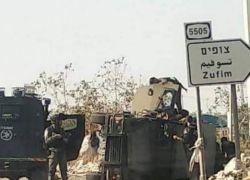اصابة 4 جنود اسرائيليين قرب قلقيلية