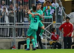 ريال مدريد يتلاعب بفالنسيا ويبلغ نهائي السوبر