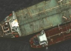 انفجار في ناقلة نفط إيرانية في البحر الأحمر