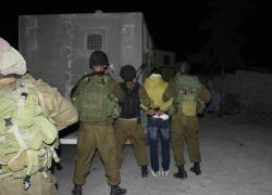 قوات الاحتلال تعتقل 7 شبان من طولكرم