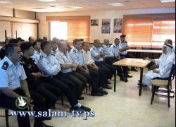 طولكرم- محاضرة دينية لمنتسبي مركز شرطة عنبتا شرق المحافظة