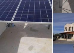 افتتاح أول مسجد يعمل بالطاقة الشمسية في قلقيلية