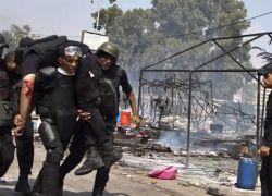 مقتل شرطي وإصابة آخرين بانفجار شمالي القاهرة