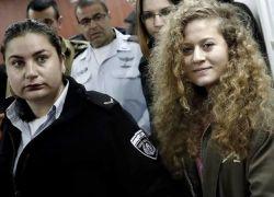 """الامم المتحدة توجه انتقادات حادة لاسرائيل لاستمرارها باعتقال """"عهد التميمي """""""