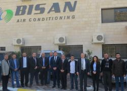 """""""مكيفات بيسان"""" تدخل السوق المحلي كأول منتج فلسطيني في أجهزة التكييف"""