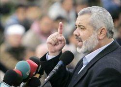 هنيه يعد بمفاجأة لغزة الاسبوع المقبل