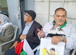 اعتصام رسمي وشعبي تضامنا مع الأسرى في طولكرم .. شاهد الفيديو