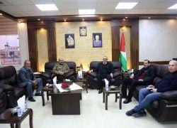 المحافظ أبو بكر يستقبل المدير الجديد لمديرية التنمية الاجتماعية بطولكرم