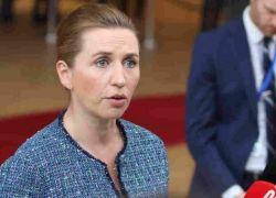 """رئيسة وزراء الدنمارك تؤجل زفافها وتؤكد : """"بلادي اهم """""""