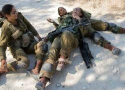 فلسطينيون يطاردون مجندات اسرائيليات بعد نسياهن في غابات غور الأردن