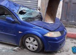الشرطة وبإسناد الأمن الوطني تتلف 117 مركبة غير قانونية في الخليل