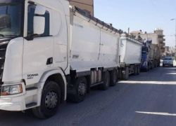 ضبط شاحنات اسرائيلية محملة بأطنان النفايات لدفنها في جماعين