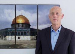 الرئيس التونسي: غزة عفرت آلة الحرب الاسرائيلية الحديثة بالتراب