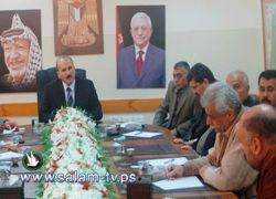 محافظ طولكرم يلتقي في مكتبه ممثلي فصائل العمل الوطني