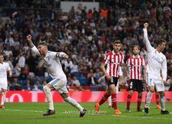 كريستيانو ينقذ ريال مدريد من الهزيمة ويقوده للتعادل أمام بيلباو