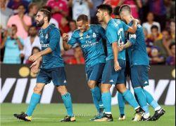ريال مدريد يقهر برشلونة في السوبر بثلاثية في الكامب نو