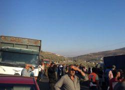 مصرع مواطن بحادث سير قرب نابلس