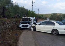 7 إصابات في حادث سير بطولكرم